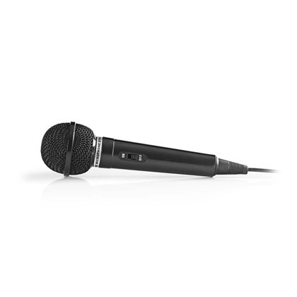 NEDIS MPWD01BK, Ενσύρματο μικρόφωνο, με καλώδιο 5m