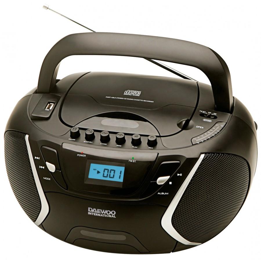 DAEWOO DBU-51 ΦΟΡΗΤΟ ΡΑΔΙΟ-CD,MP3,USB