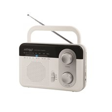 MISTRAL TR-411 WHITE ΦΟΡΗΤΟ ΡΑΔΙΟ AM-FM